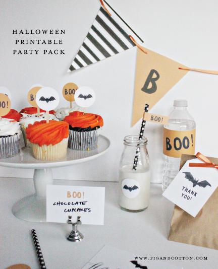 Halloween Party Printables!
