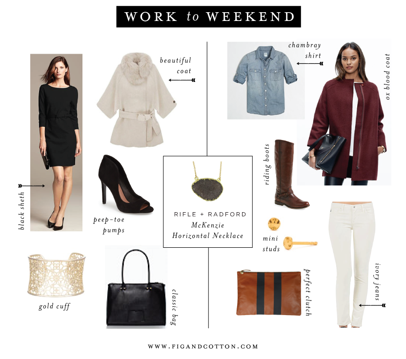 Work to Weekend: Horizontal Necklace